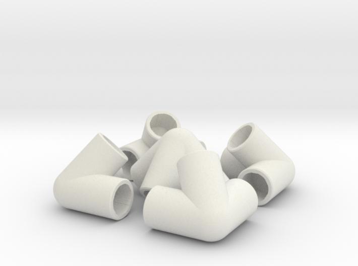 0.50 In PVC Pyramid 3d printed