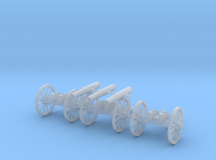 HO 12lb Napoleon (Confederate) 3-Pack 3d printed