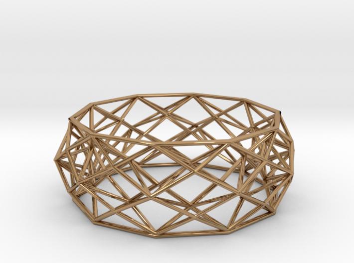 Constructionist Bracelet  3d printed