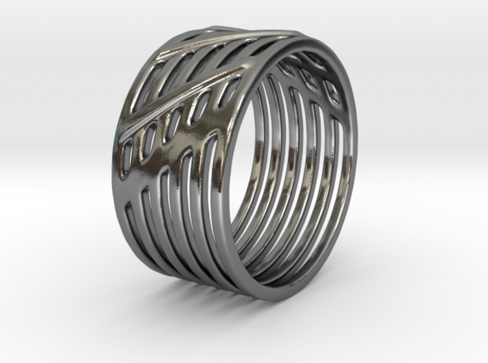 Warrior Ring 17mm 3d printed