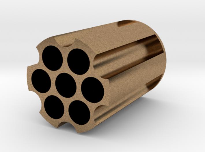 Revolver Cylinder Pencil Holder 3d printed