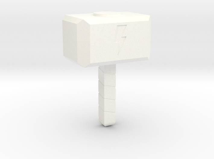 Thor Hammer Small 3d printed