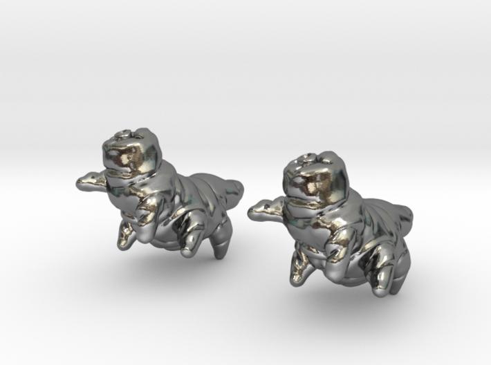 Tardigrade Earrings 3d printed