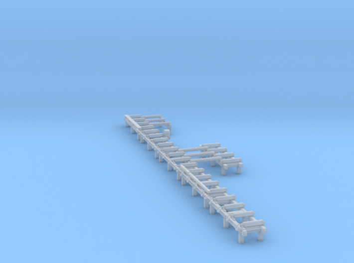 Roller Tables with Transfer Beams 3d printed