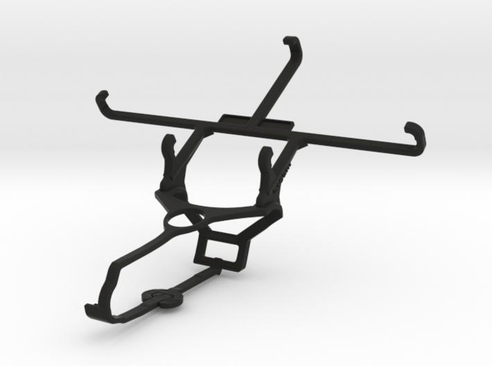 Steam controller & BLU Studio Selfie 2 - Front Rid 3d printed