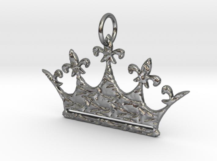 Queen's Crown w/ KaP crust 3d printed Fir for a Queen