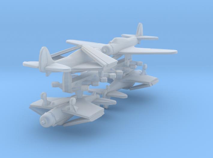 1/700 TBD w/Gear x4 (FUD) 3d printed