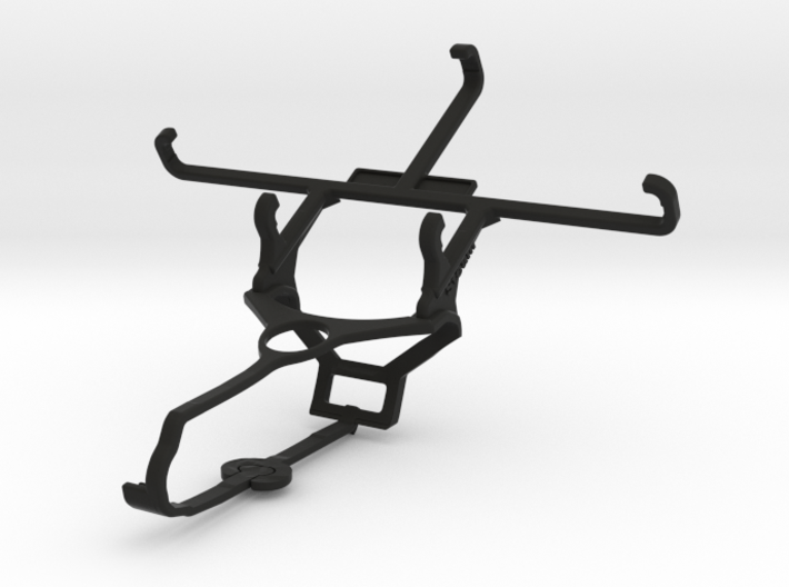 Steam controller & Lava Iris Atom 2X - Front Rider 3d printed