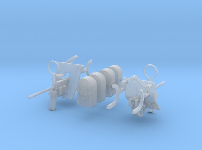 1-20 Cal 50 For USN Pedestal M Set 3d printed