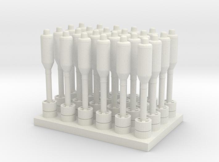 1/48 Hegdehog Projectiles 3d printed