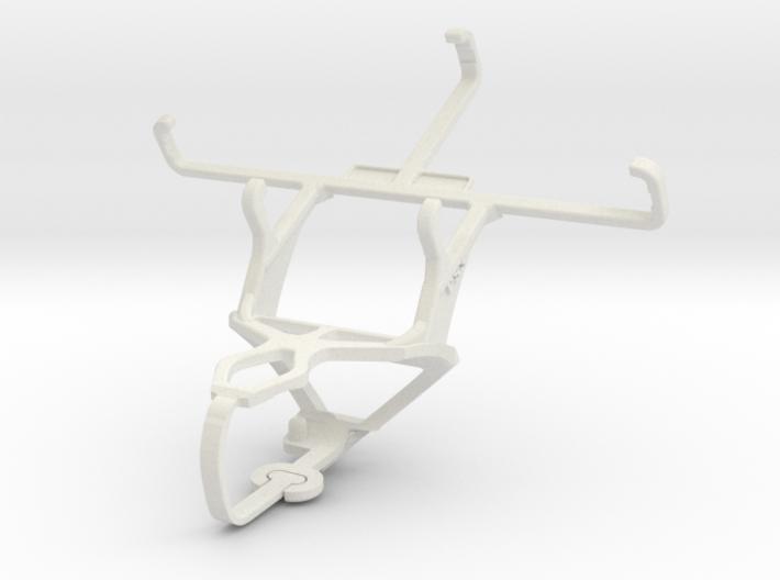 Controller mount for PS3 & Motorola Moto E Dual SI 3d printed