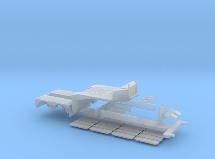 D 08 Tieflader ähnlich Doll 2achs mit Baggerstiel 3d printed