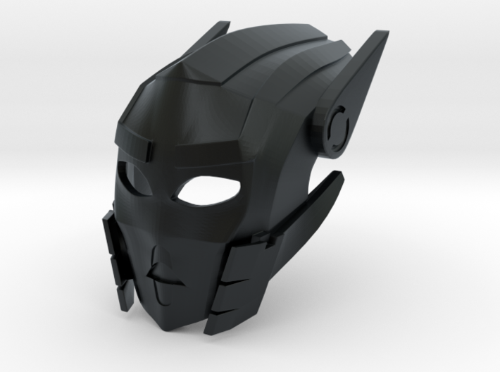 Toa Sameri's Kanohi Mask of Adaptation 3d printed BEWARE: This material uses support structures which can obstruct details or vital parts.