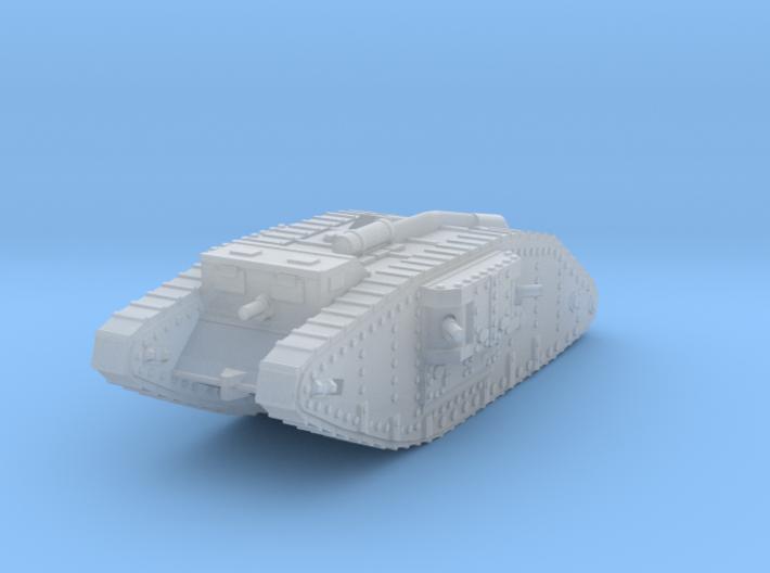 1/160 Mk IV Female Tank 3d printed