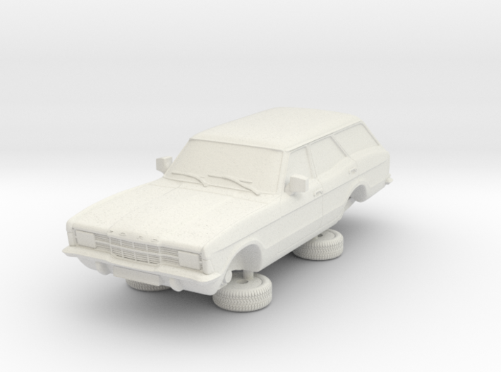 1-76 Ford Cortina Mk3 4 Door Estate Square Hl 3d printed
