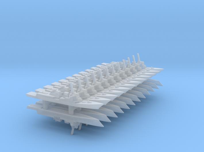 Future DDG-51 set, 24pc, 1/6000 3d printed