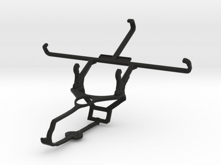 Steam controller & ZTE nubia N1 - Front Rider 3d printed
