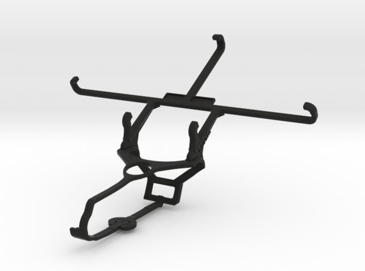 Steam controller & ZTE nubia Z11 Max - Front Rider 3d printed