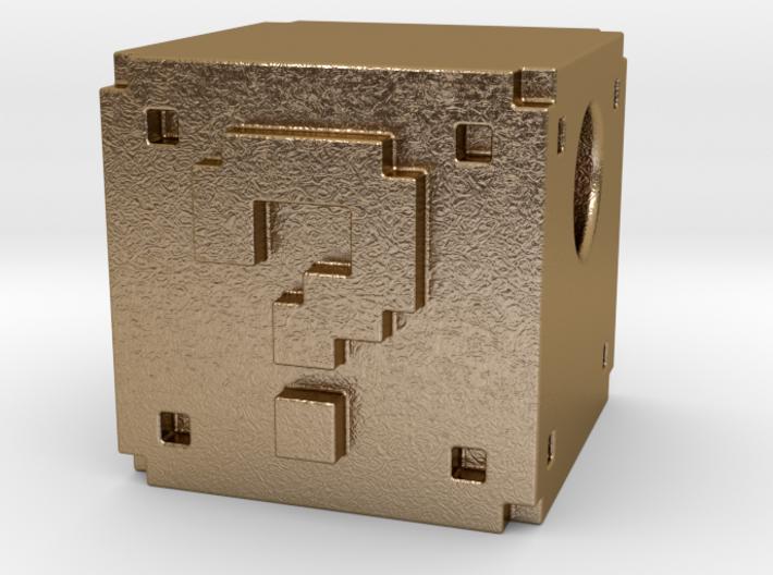 Question Mark Block Mario 3d printed