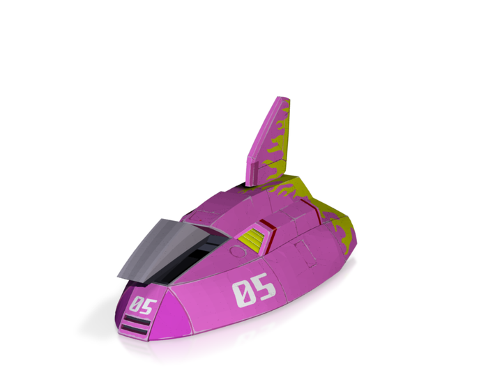 Fire Stingray (F-Zero) 3d printed