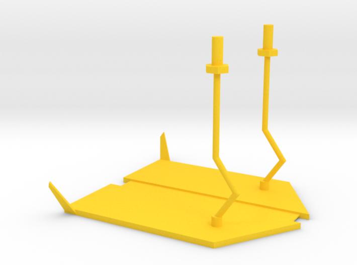 lost marbles robot skiff 3d printed