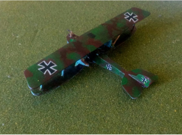 Rumpler G.III 3d printed Paint job and photo courtesy Zoe at wingsofwar.org