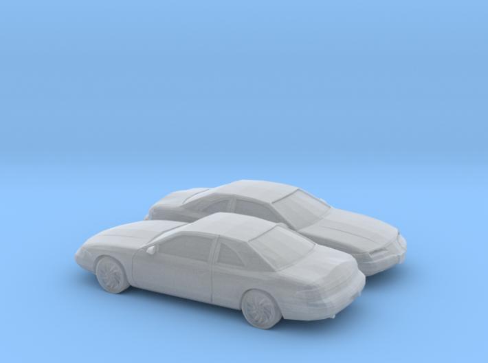 1/160 2X 1993-96 Lincoln Mark VIII 3d printed