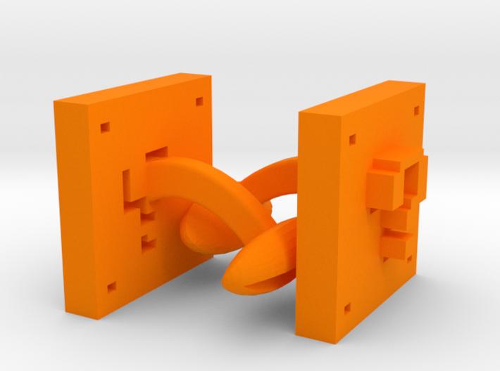 Super Mario ? Block links 3d printed