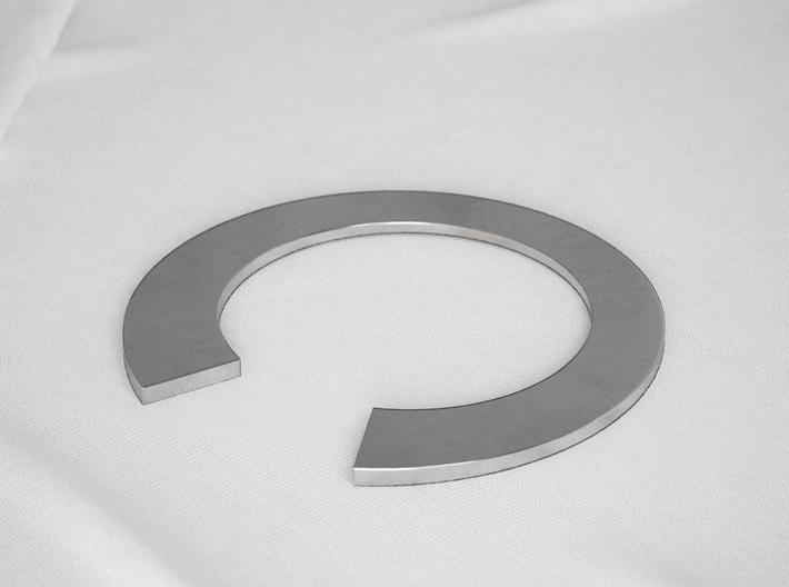 I Letter Ring 3d printed