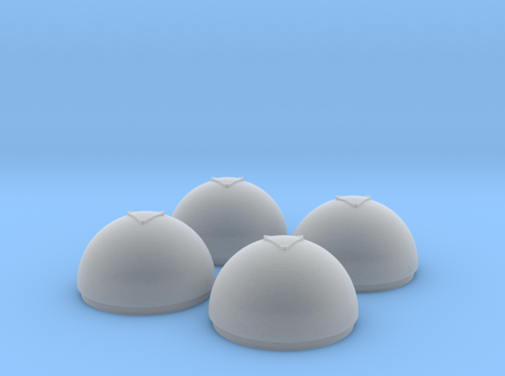 1/35 Torpedo Tube Warhead Inserts (4) 3d printed