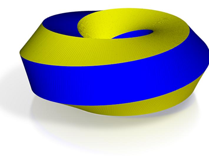 Mobius Hexagon 3d printed