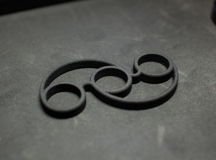 The Swirl - Fidget Spinner - For Your Idle Hands 3d printed