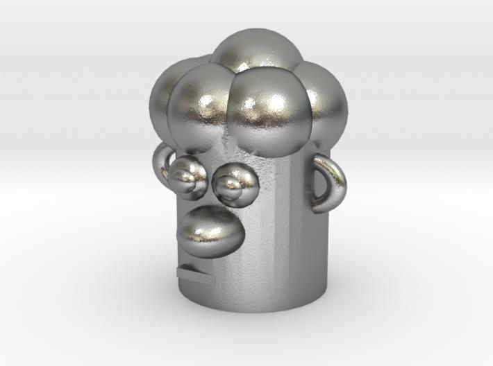 Cartoonish Human Head 3d printed