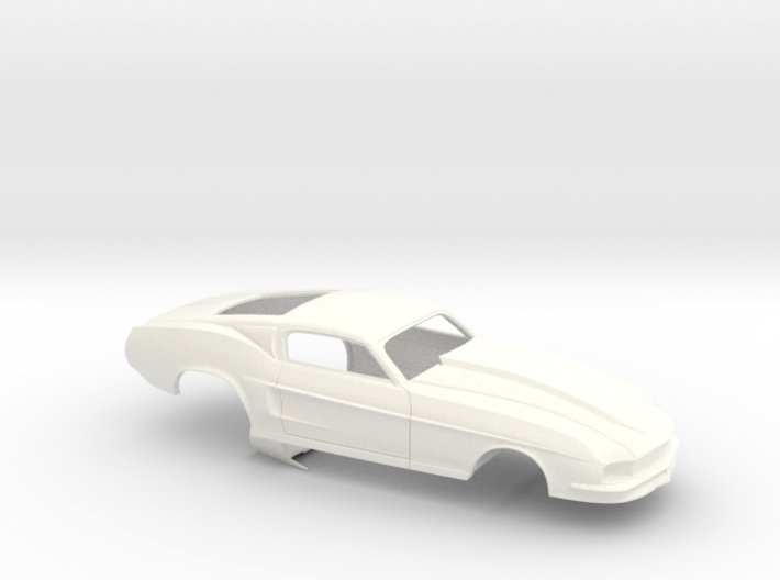 1/32 67 Pro Mod Mustang GT 3d printed