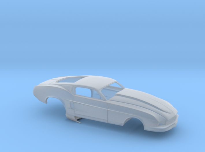1/43 67 Pro Mod Mustang GT 3d printed