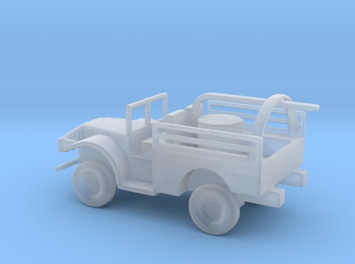 1/144 Scale M506 hydrogen peroxide servicer truck 3d printed