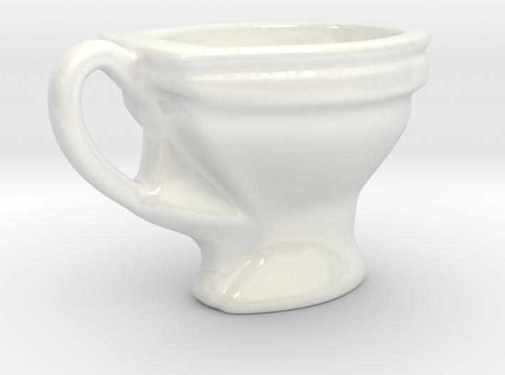 Toilet coffee cup 3d printed