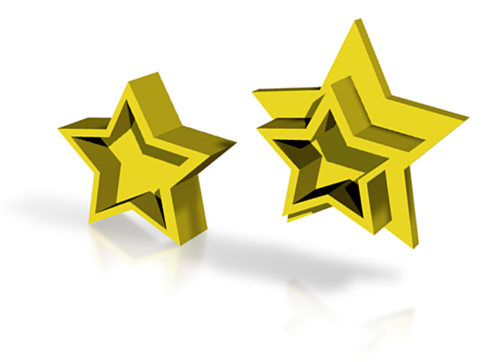 Customizable Star Box 3d printed