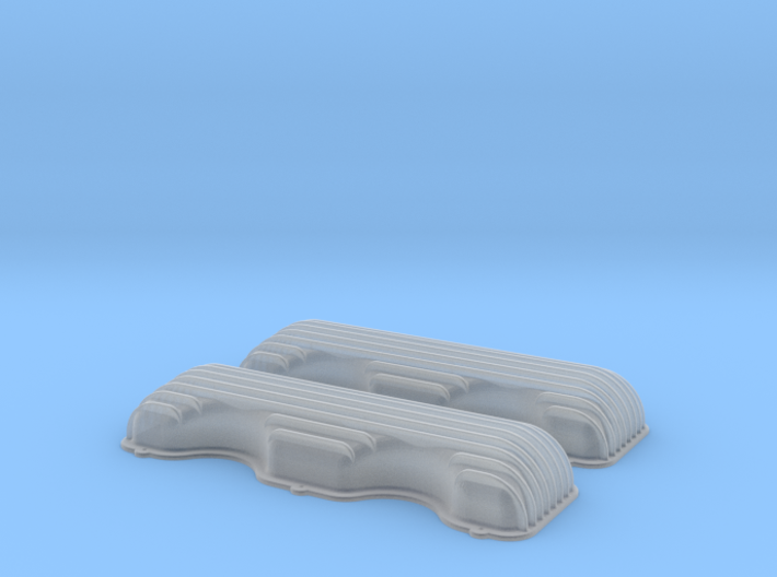 1/25 409 Finned Valve Covers File 3d printed
