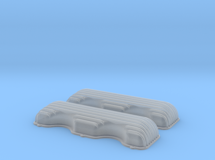 1/32 409 Finned Valve Covers File 3d printed
