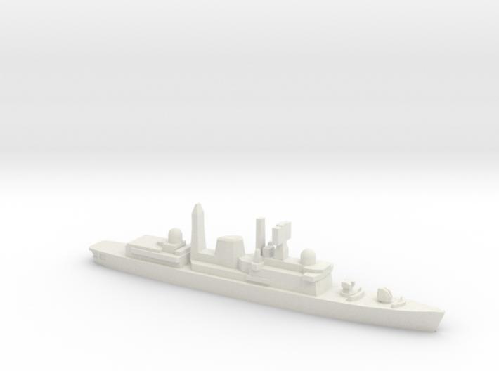 Type 42 DDG (Falklands War), 1/1800 3d printed
