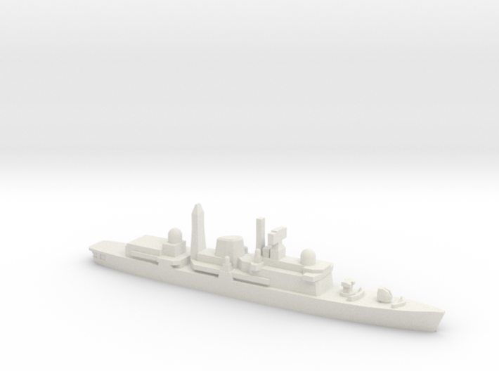 Type 42 DDG (Post-Falklands War), 1/1800 3d printed
