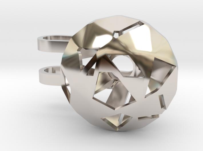 Diamond Phone Lamp - M 3d printed