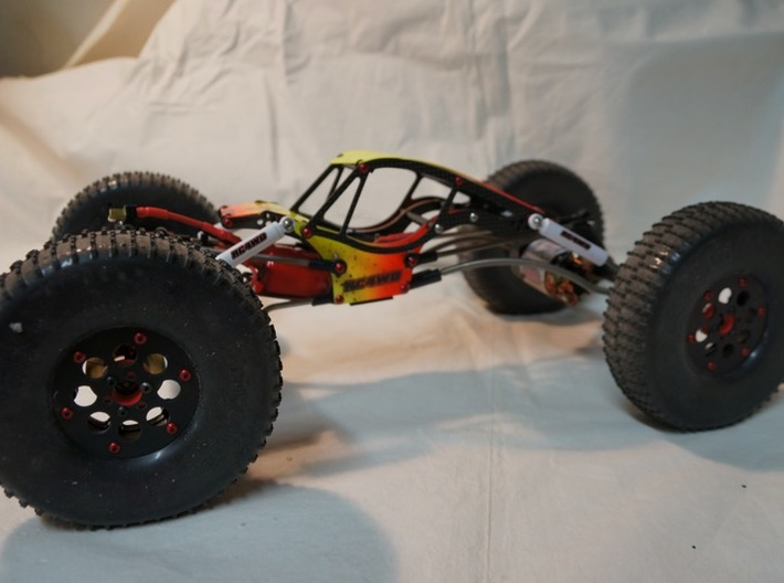 RC4WD Bully II Hub spacers 3d printed
