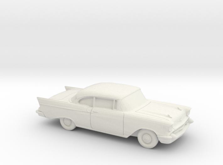 1/87 1957 Chevrolet One Fifty Coupe 3d printed