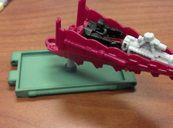 Titans Return Ramp Extension 3d printed