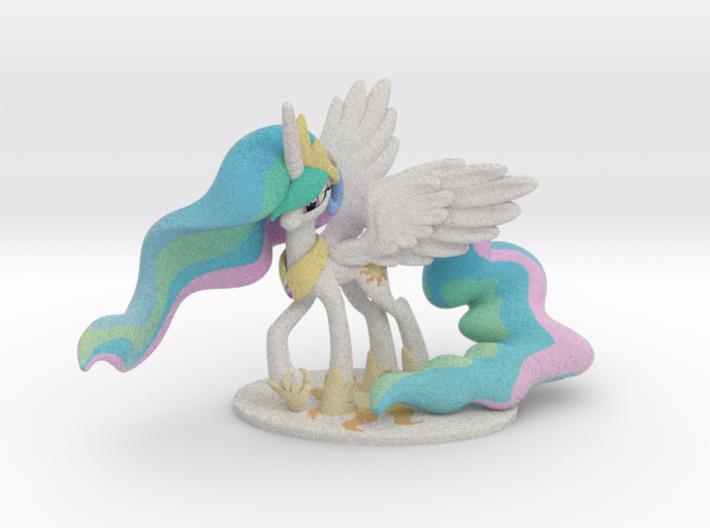 My Little Pony - Celestia (≈70mm tall) 3d printed