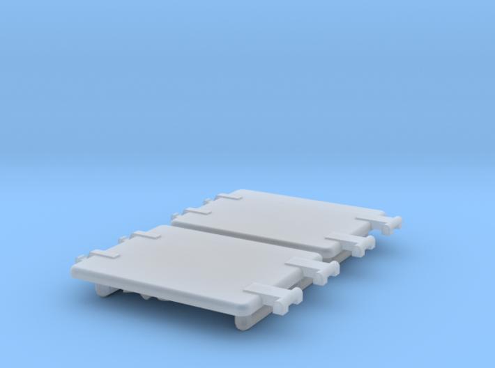 1/16 Panther Stowage Box Lids 3d printed