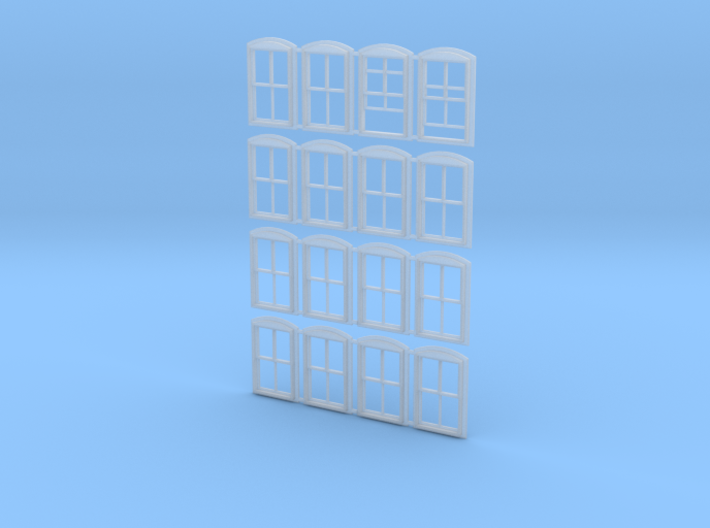 Middlesex Windows 3d printed