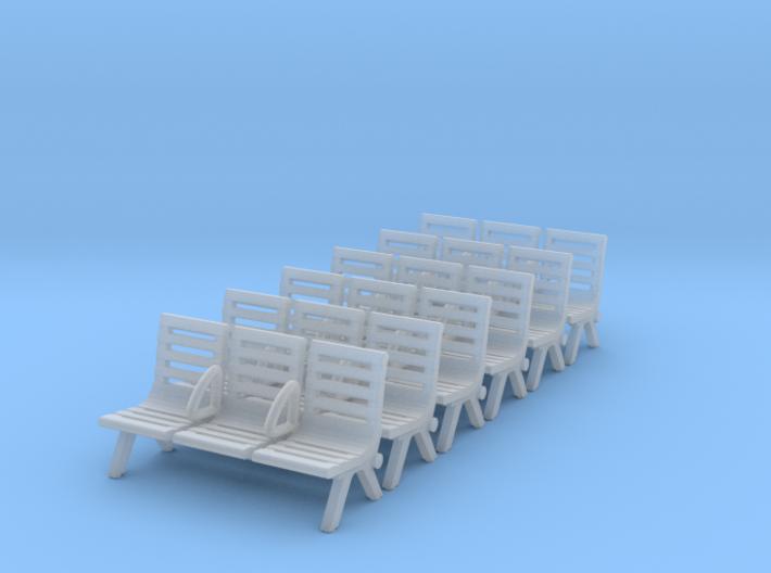 Modern Seat - Type 3 X 6 3d printed